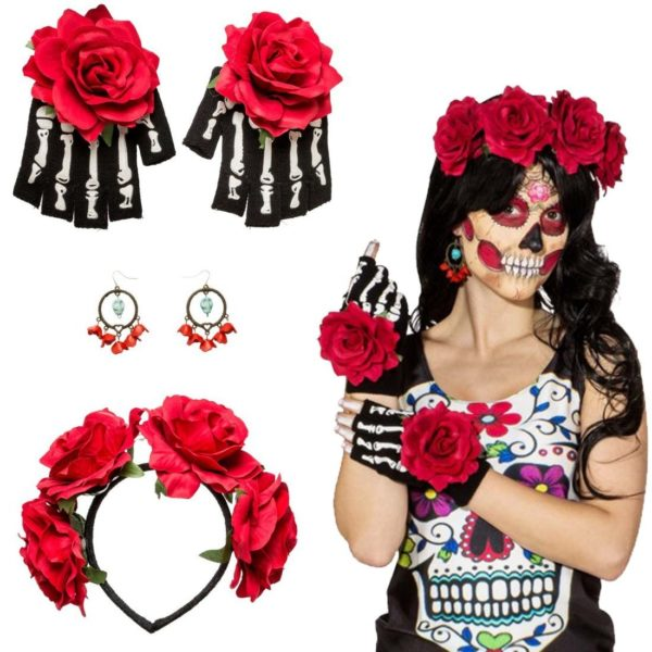 Day of the Dead headband set
