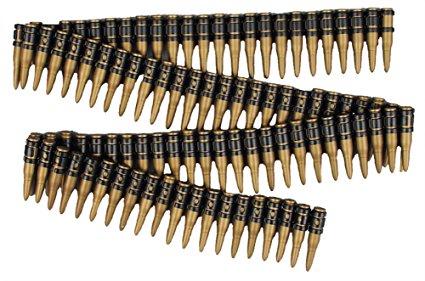 Adult novelty bullet belt