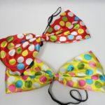 Clown bow ties