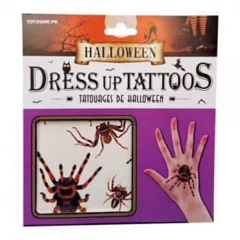 Dress up tattoos - spiders