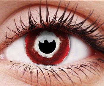 Hellblazer contact lenses