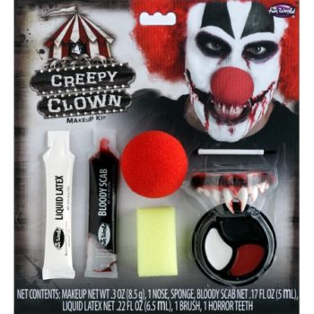 Killer clown make-up kit