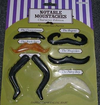 Notable moustaches assorted