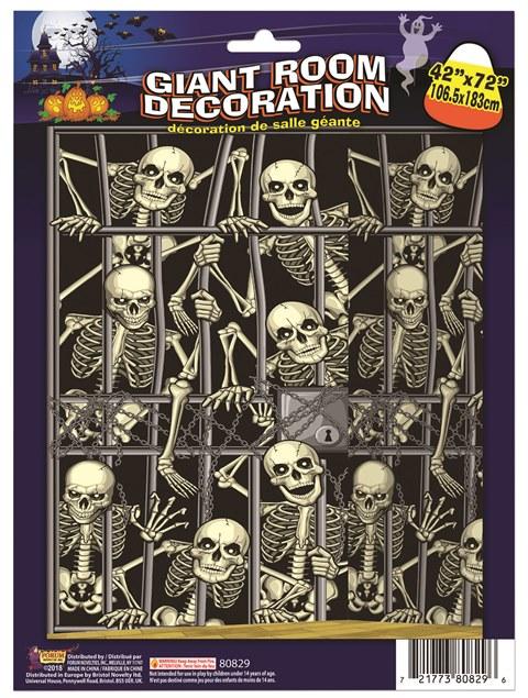 Skeleton invasion backdrop