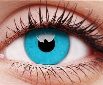 Sky Blue contact lenses