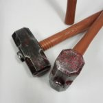 Sledgehammer - blood spattered