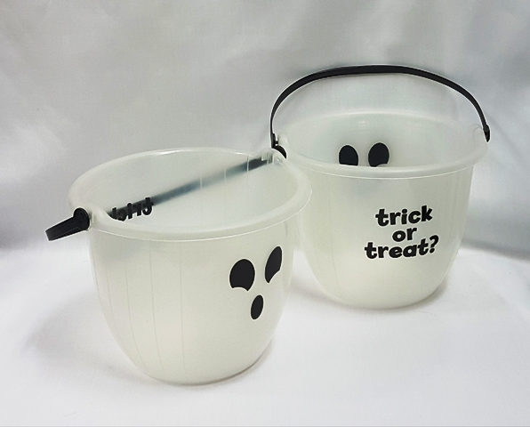 Trick or treat buckets