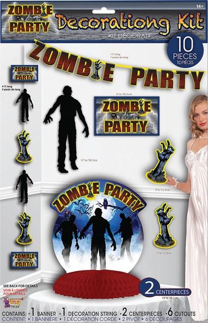 Zombie decorating kit