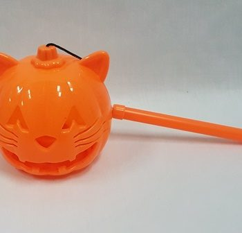 Cat light up trick or treat lantern
