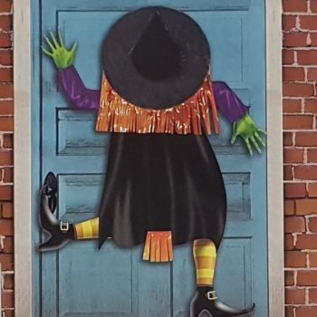 Crashing witch door cover