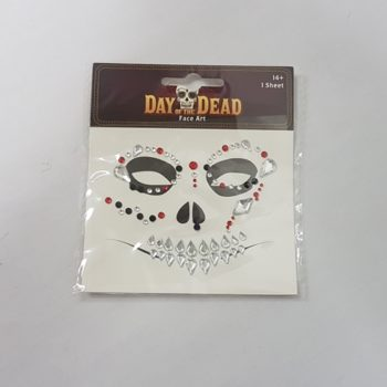 Day of the Dead face art