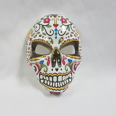 Day of the Dead mask - cross