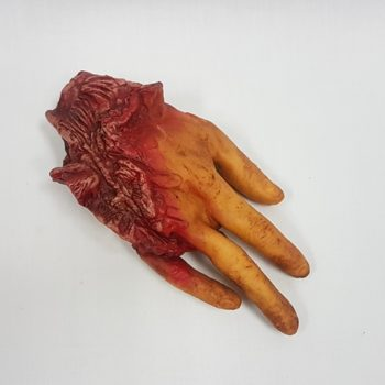 Four fingered cut off hand