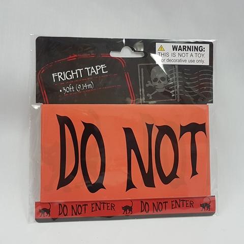 Fright tape - do not enter