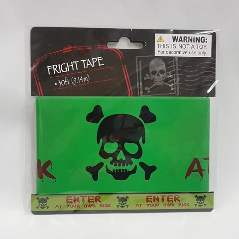Fright tape - enter at your own risk