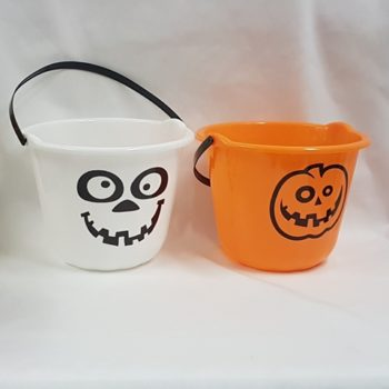 Halloween treat buckets