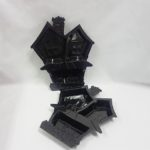 unted house treat tray blacl
