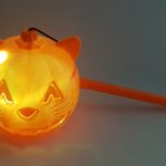 Light up cat trick or treat lantern