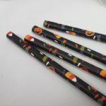 Pumpkin & candy design paper straws