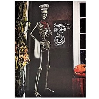 Skeleton chef door cover