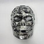 Steampunk metal face mask