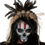 Voodoo priestess make-up
