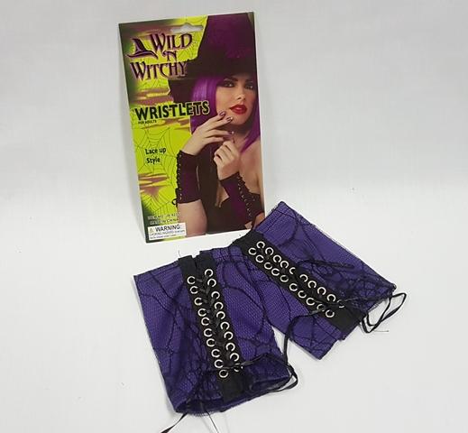 Purple wristlets