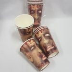 Zombie paper cups
