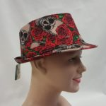 Day of the Dead fedora style hat