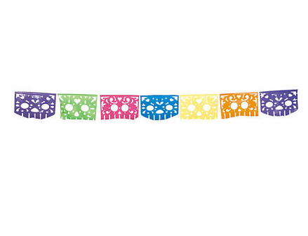 Day of the Dead cutout banner