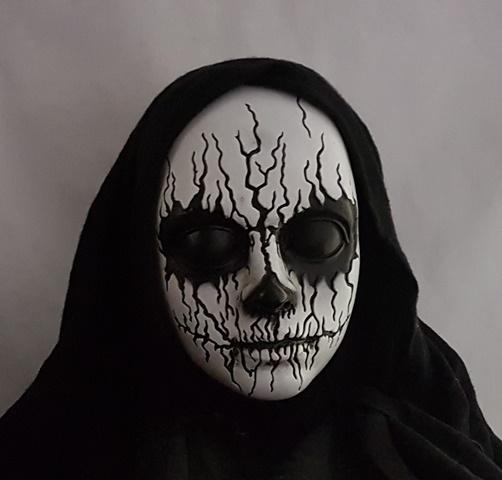 Demon girl close up