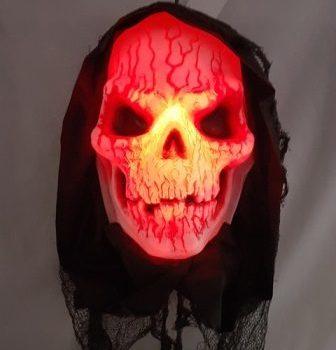 Demon skull haning animated