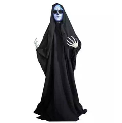 Demon standing girl