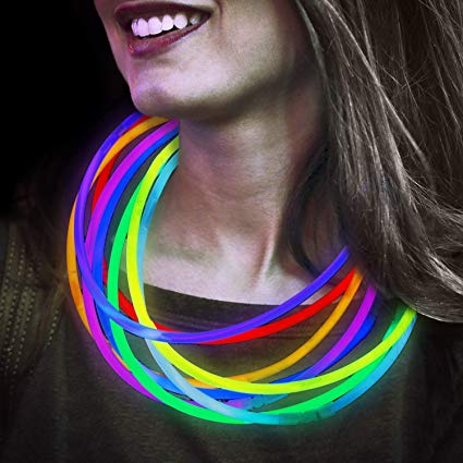 Glow necklaces - 50pieces