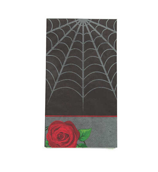 Gothic halloween dinner napkins