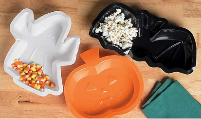 Halloween shaped dishes