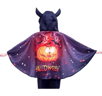 Halloween cape - pumpkin