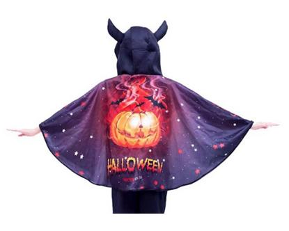 Halloween cape - pumpkin
