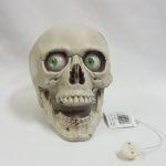 Moaning skull light up