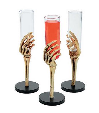 Skeleton hand flutes