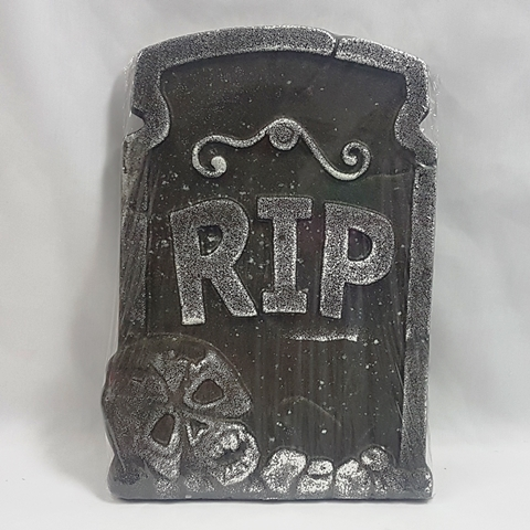 Tombstone RIP & skull