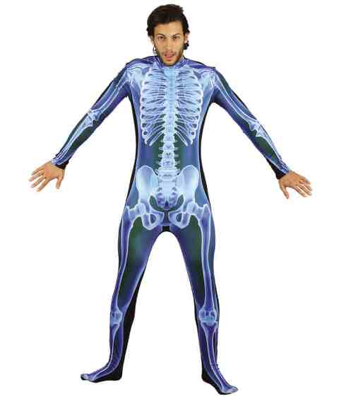 X-Ray skeleton jumpsuit