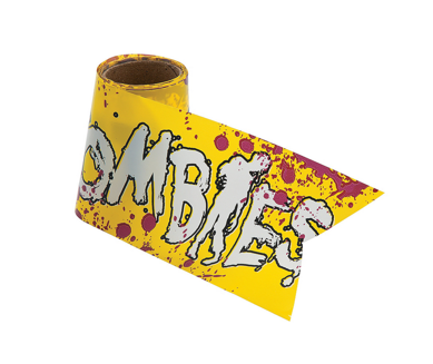 Zombies fright tape