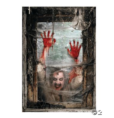 Zombie window backdrop