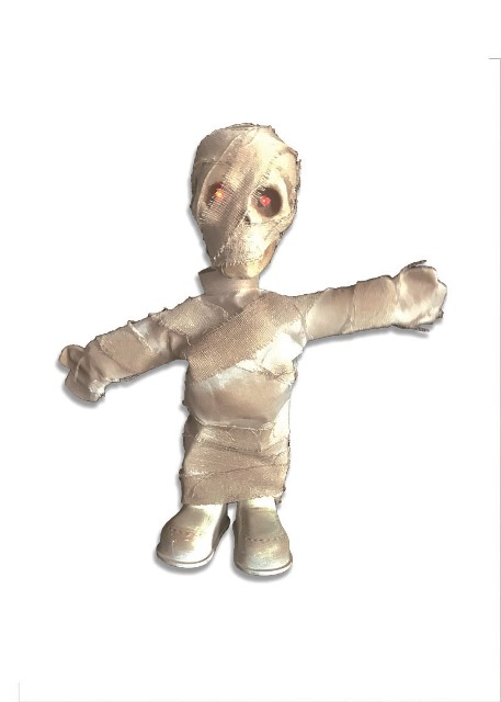 Animated mummy prop