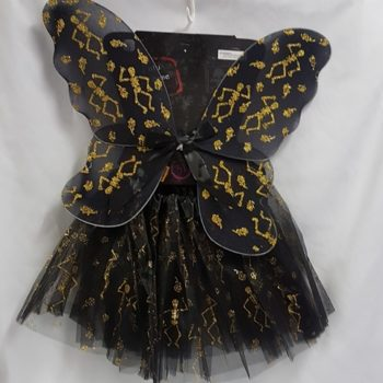 Black wing & tutu set