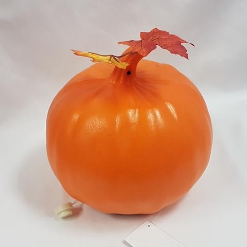 Creepy talking pumpkin