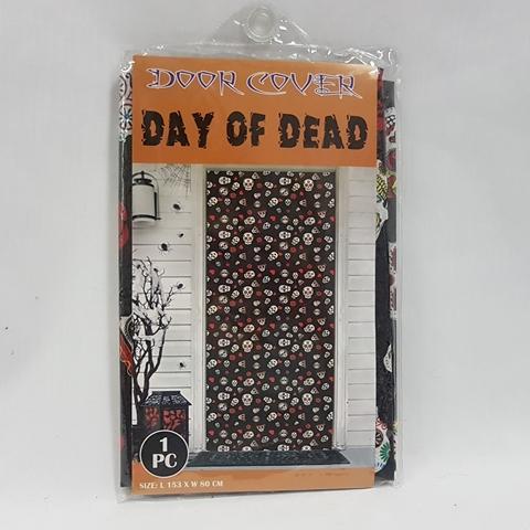 Day of the Dead door cover