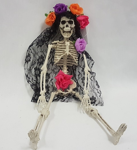 Day of the Dead lady skeleton