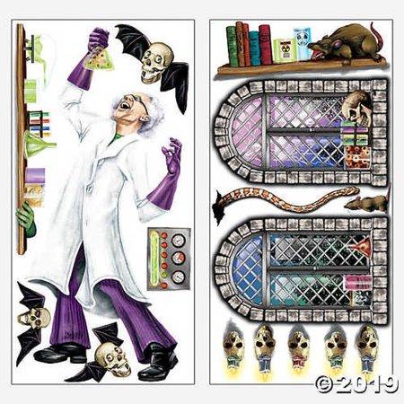 Design a room mad scientist